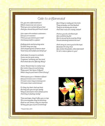 Ode to a Barmaid