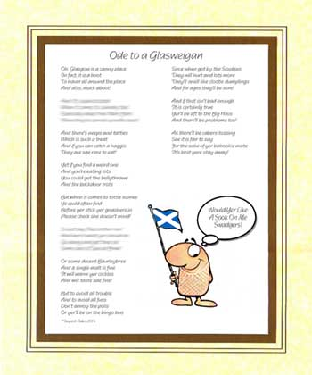 Ode to a Glasweigan