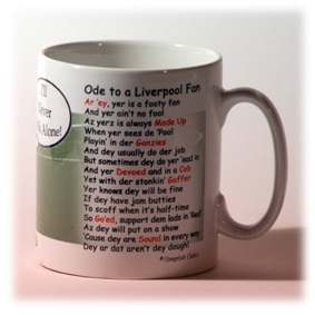 Left Side of a Sample Mug