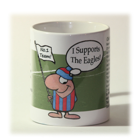Crystal Palace Supporter Mug
