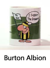 Click to View the Burton Albion Supporter Mug