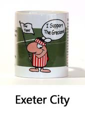 Click to View the Exeter City Supporter Mug
