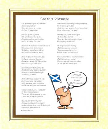 Ode to a Scotsman