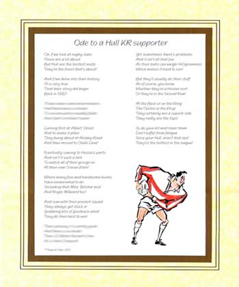 Ode to a Hull KR Supporter