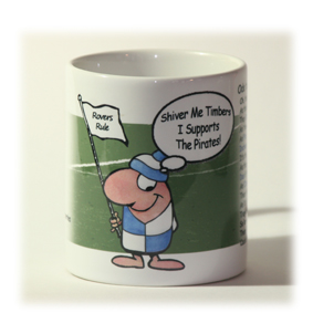 Bristol Rovers Supporter Mug